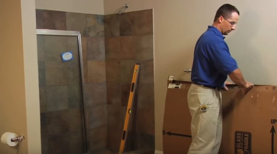 Do You Tile First and Then Install the Shower Door