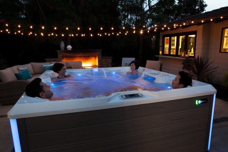 Nights in hot tub